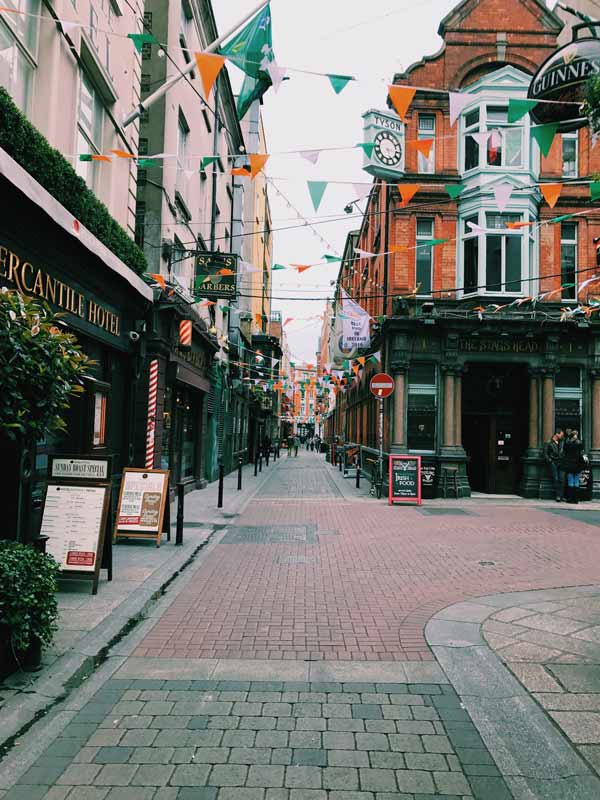 Dublin, a cidade no fim do arco-íris | Dublin, the city at the end of the rainbow