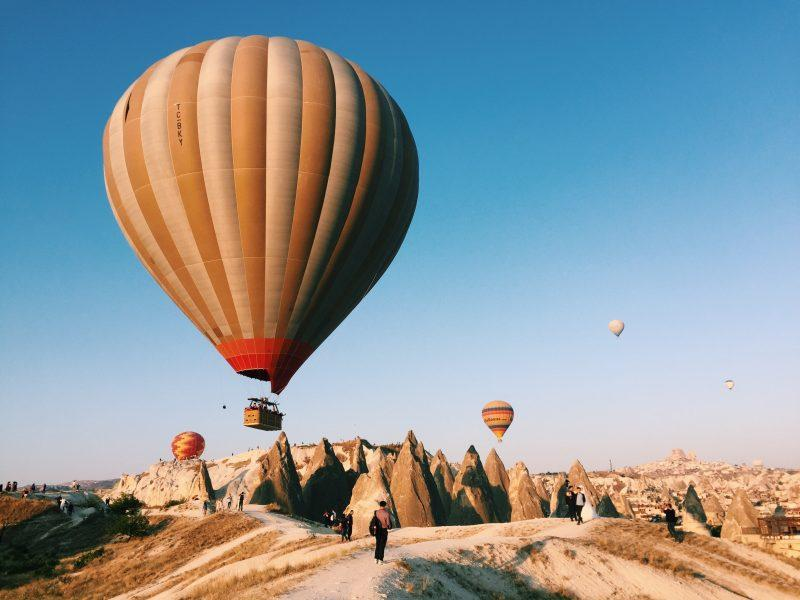 Voar no mundo mágico da Capadócia | Fly in Cappadocia's magical world